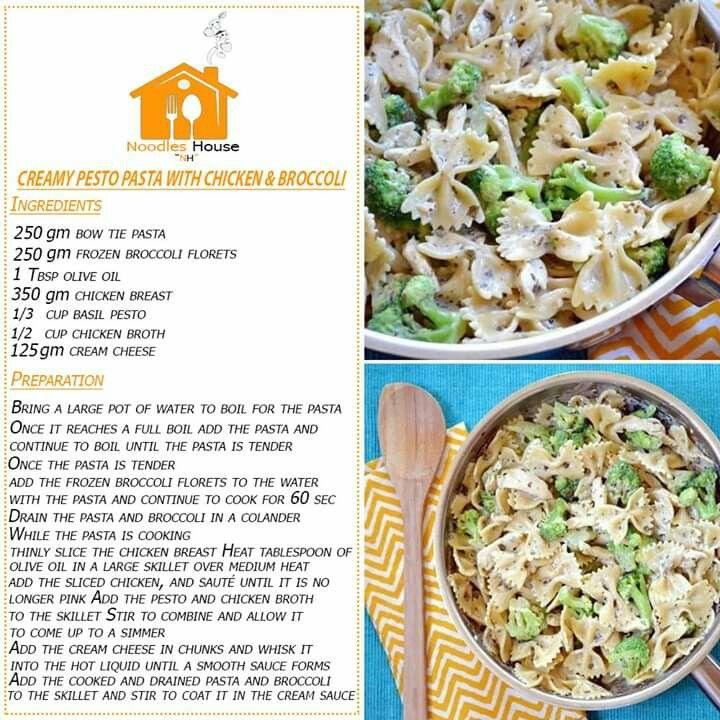 Creamy Pesto Pasta In 2020 Creamy Pesto Pasta Pesto Chicken Pasta Pesto Pasta