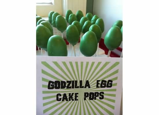Spaghetti Arms: Godzilla First Birthday Party