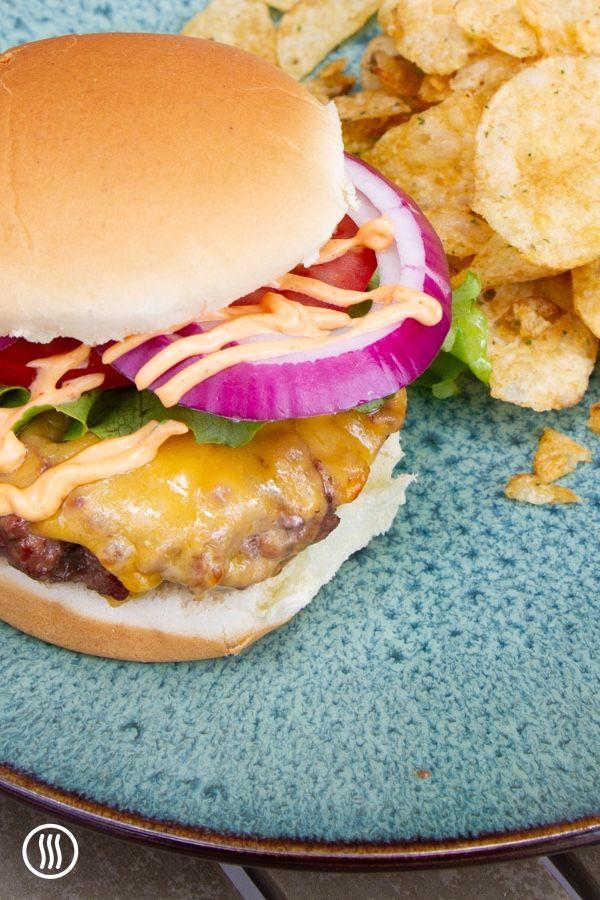 Grilling Hamburgers: A Temperature Guide | Hamburgers grilled, Hamburger, Bbq  hamburgers