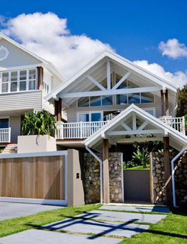 Eco Outdoor - Project of the Month - May 2012 - Beach House Beauty-Exterior front