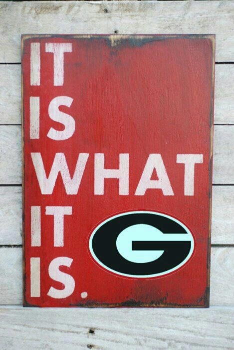 Go dawgs! Georgia SEC Football