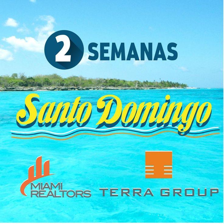 #DominicanRepublic #SantoDomingo Iremos pronto, junto con Terra Group para presentarles los mejores proyectos cuando hablamos de modernos, alta categoría y confortables. Los días 30 de Septiembre y 01 y 02 de Octubre. Solo por cita ---> Info@usmiamirealtors.com