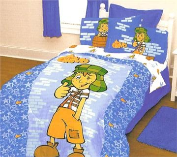 El Chavo pillowcases on sale now at Domestic Bin.
