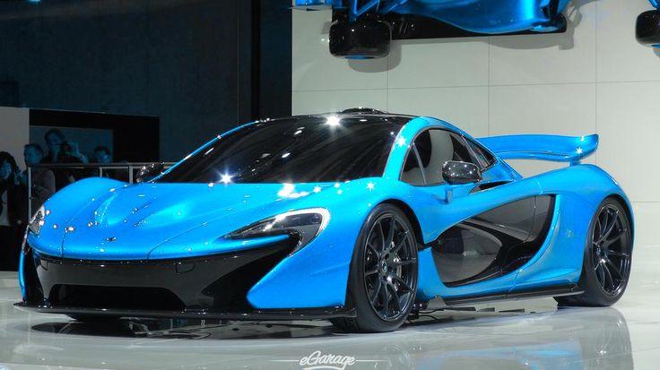 Light Blue McLaren P1   Super fast cars, Blue mclaren p1 ...