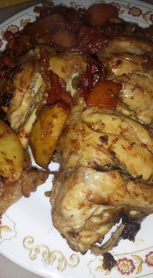 pollo leggero al forno