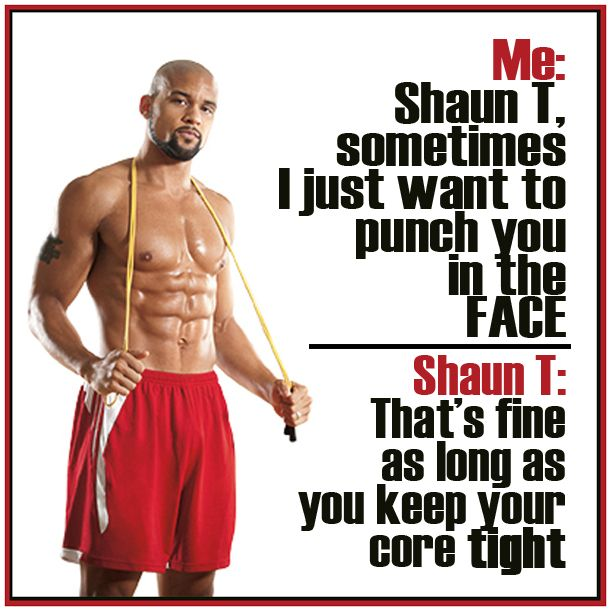 So true!! Haha!! But that's why he rocks! = http://www.beachbodycoach.com/Tarbear83