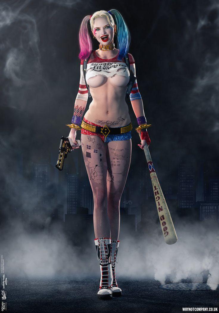 Harley Quinn, Gotham Girls Comic Series, Evolution by DevilishlyCreative.deviantart.com on @DeviantArt