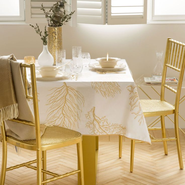 Mantel Plastificado Corales - Manteles y Servilletas - Mesa | Zara Home España