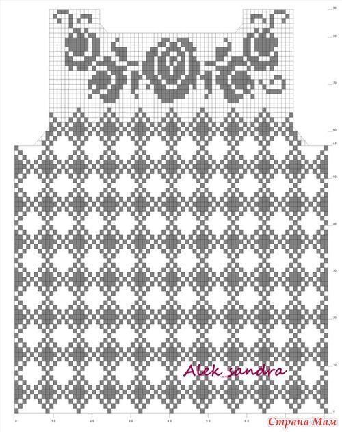 47 mejores imágenes de Crochet russe en Pinterest | Deberes, Tops de ...
