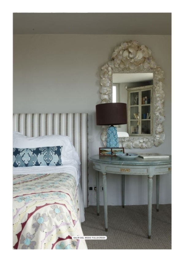 : Pattern, Isabel Lopez, Isabel López Quesada, Soothing French, French Country Bedrooms, Eclectic Bedrooms, Bedroom