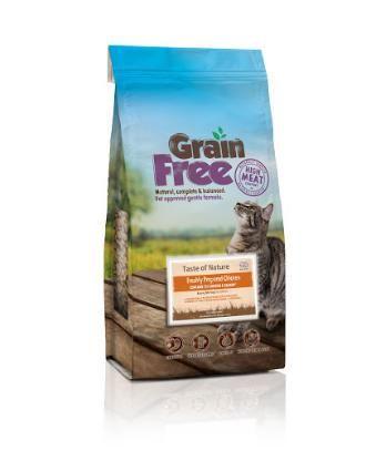 Taste of Nature Grain Free Kitten Food. Grain Free Kitten Food with 75% Chicken and Salmon from Taste of Nature..