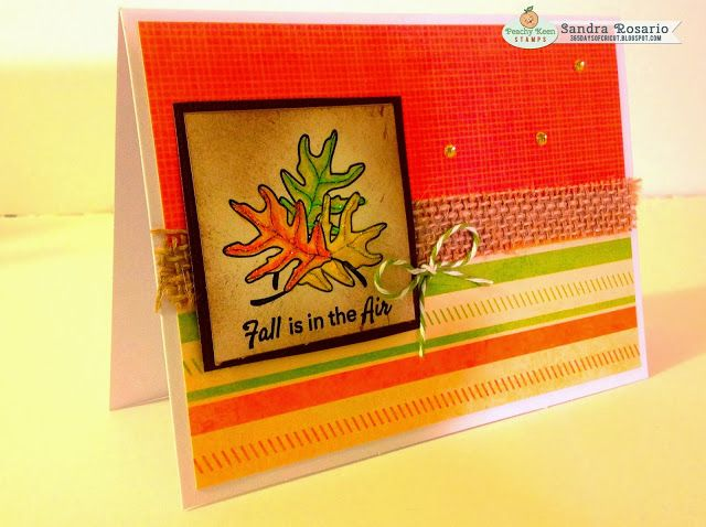 365 Days Of Cricut: #96-97 Peachy Keen Stamps October Release