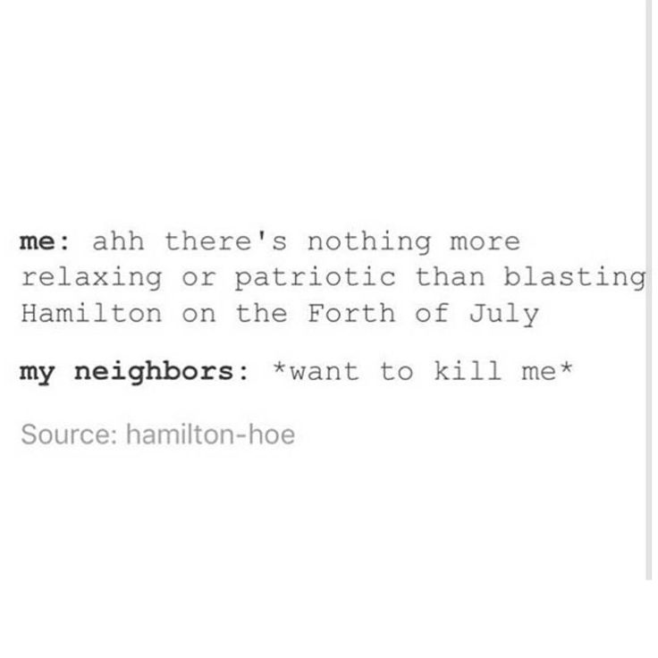 best hamilton images musical theatre musicals  me and my sister went outside to watch fireworks on the fourth of and started singing alexander hamilton at the top of our lungs and i m surprised our