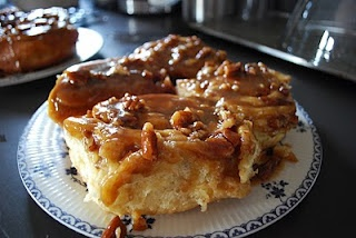 Joanne Chang's Sticky Sticky Buns: I've made these several times from my Bobby Flay Throwdown Cookbook--they are great!  ~Becky~