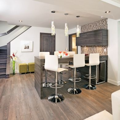am nagement intelligent au sous sol sous sol. Black Bedroom Furniture Sets. Home Design Ideas