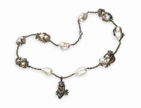perles baroques - Filles de la mer