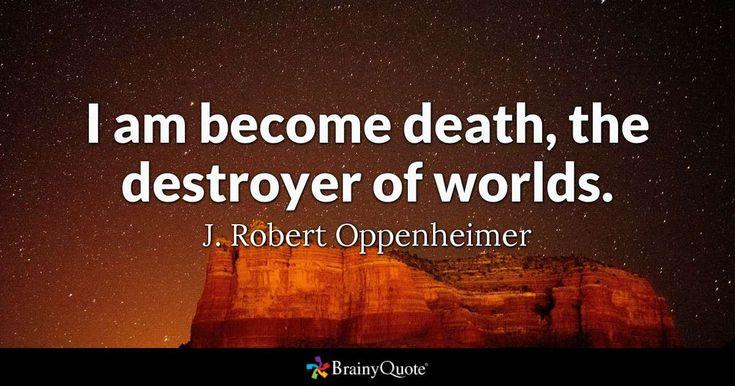 J. Robert Oppenheimer Quotes - BrainyQuote