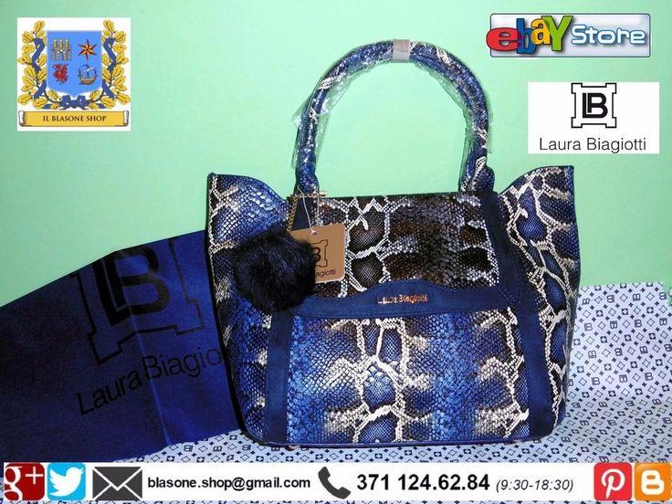 Borsa Tote Shop Donna Laura Biagiotti New Novità A/I Simphony Animalier Fashion