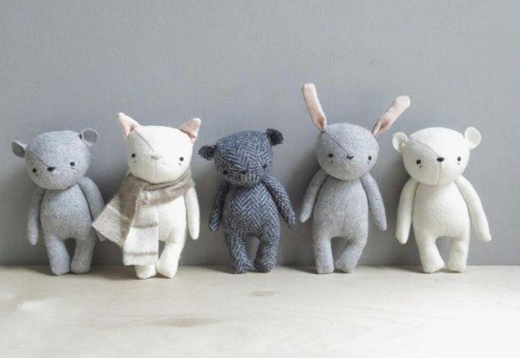 Bunny,Cat and Bears