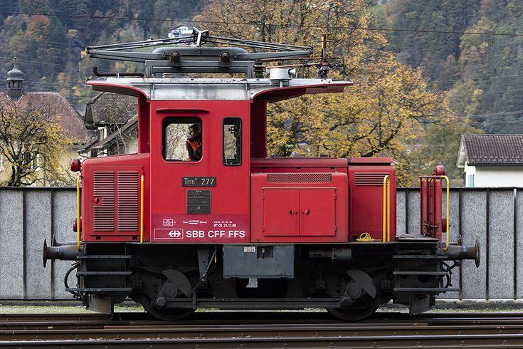 SBB - Historic, Tem II, 277, 21.10.2017, Erstfeld