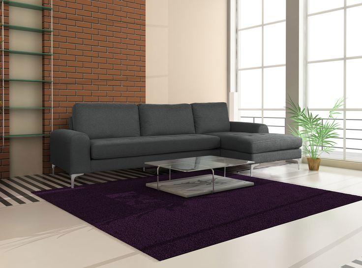 le canap d 39 angle tal est un beau canap d 39 angle en tissu tr s confortable avec son assise et