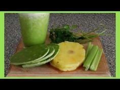 Licuado De Nopal Para Diabeticos - Jugo Verde Para Diabeticos - YouTube