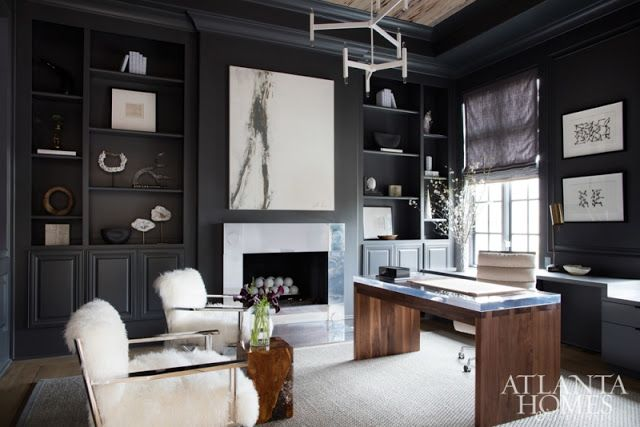 Living Room - Interiors by Shawn Broaddus featured in Atlanta Homes Magazine