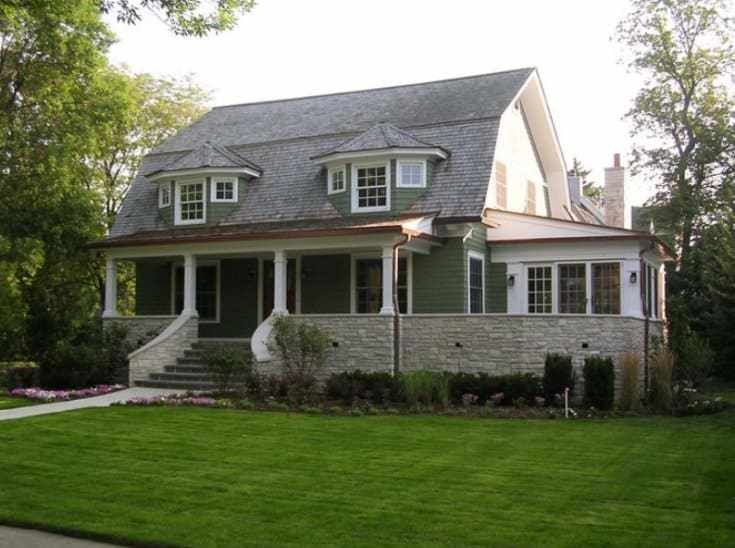 Vintage Gambrel Roof Barn House Colonial Exterior Dutch Colonial Exterior Gambrel Roof