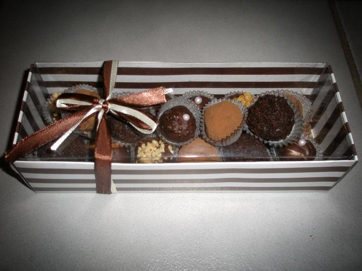 Hand-made Pralines
