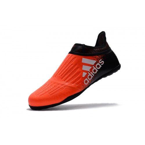 741e0e31c7a ... Hvid Adidas X - Kaufen Adidas X Tango 16 Purechaos IC Orange Schwarz  Fußballschuhe Online ...