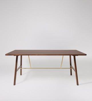 Pierson, Dining Table, Mango Wood & Metallic