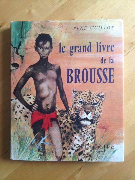 #littérature #illustré #enfance : Le Grand Livre De La Brousse de René Guillot. Delagrave, 1964. Illustrations de Paul Durand. 160 pp. reliées.