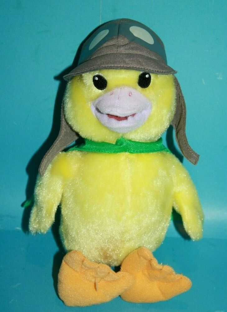 Details About Fisher Price Wonder Pets Plush Duck 11 Fluffy Ming Ming W Cape Nick Jr 2008 In 2020 Wonder Pets Pets Plush Stuffed Animals