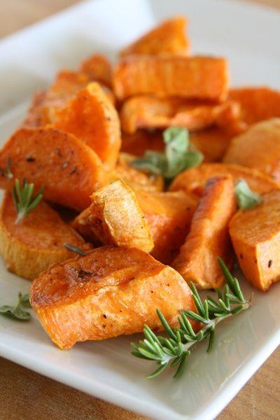 Italian-style sweet potatoes