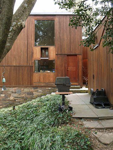 Norman and Doris Fisher House. 1967. Hatboro, Pennsylvania. Louis I. Kahn