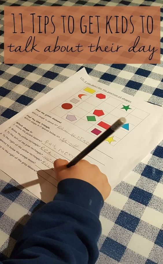 The Ultimate Pinterest, Week 137 11 tips to get kids to talk about their day - Bubbablue and me