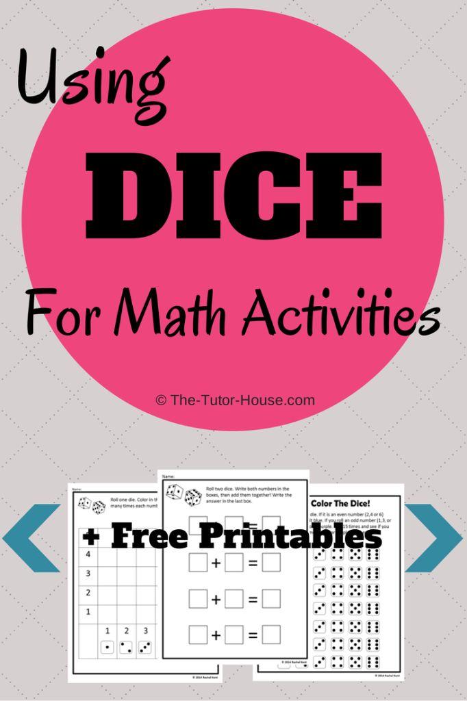 Best 900+ Math Dice Games images on Pinterest | Kindergarten math ...
