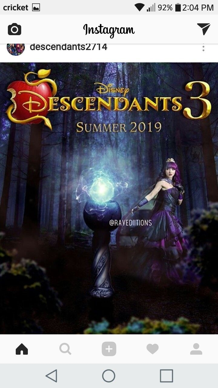 Descendientes 3 | Decendientes | Descendants, Disney ...