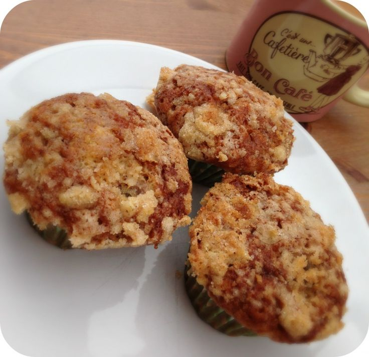 Crumble top banana muffins, easy cakes to make and they taste so good!