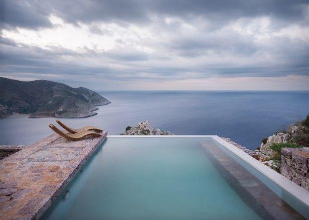 Tainaron Blue Retreat en Grèce - Journal du Design