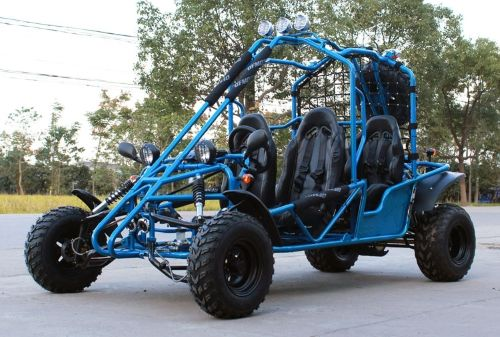 Check out this 4-Seater 169cc Off-Road Gas Go Kart - DF200GKE! Call 1-886-606-3991 for more information!