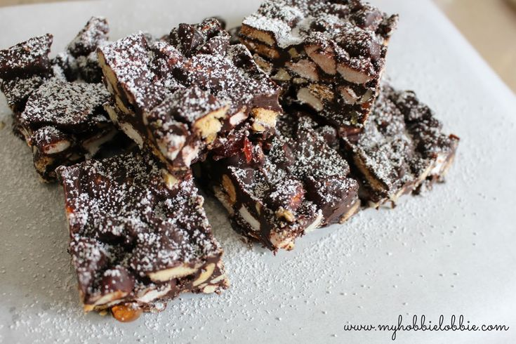 Rocky Road Crunch Bars ... another quick and easy, delicious treat, perfect for the holiday season