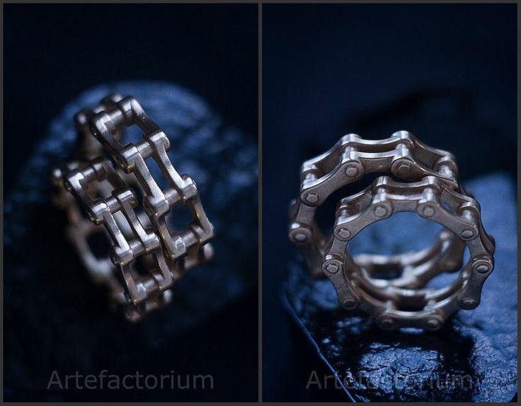 artefactorium_a: Оригинальные обручальные кольца, сделанные в нашей мастерской!