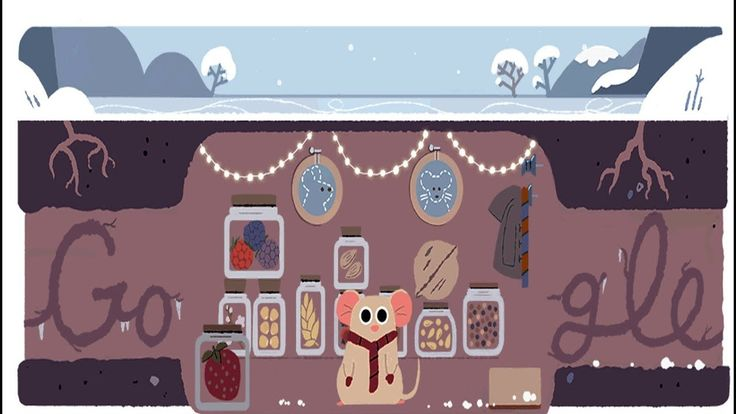 First Day of Winter 2017 - Google Doodle
