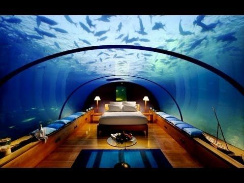 Sleep underwater underwater hotels marine are new for The most beautiful hotel in dubai