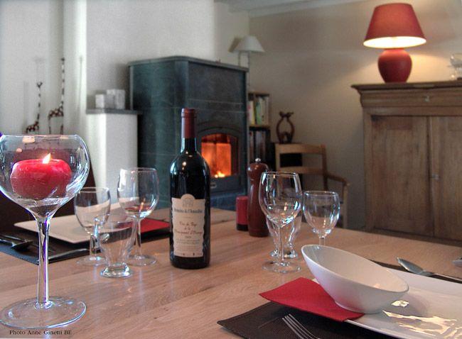 """Lovely Bed and Breakfast """"Le Refuge de la Vallée"""" in Erezee (Belgium) - ref 2402 #love #wine"""
