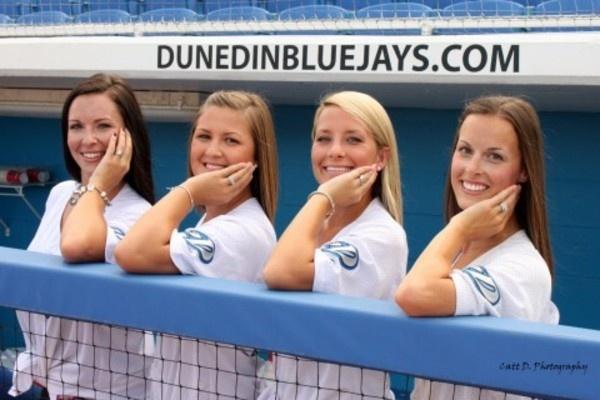Baseball 'Wives' of Dunedin