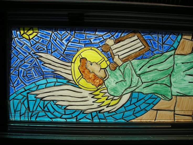 2006 Stained glass Angel