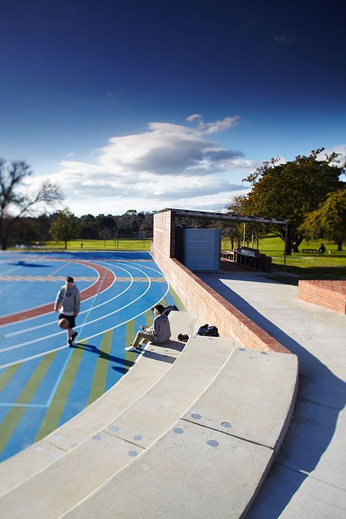 Hill garden melbourne and landscape architecture on pinterest for University of melbourne landscape architecture