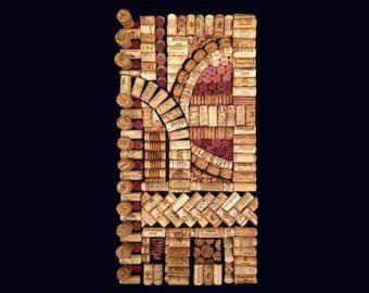 Julietta diy wine cork fine artwork kit with by DIYWineCorkDesigns